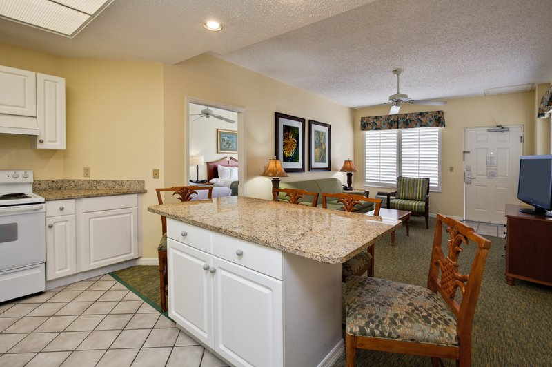 Holiday Inn & Suites Clearwater Beach S Harbour-2 Queen beds Suites have full kitchens and living areas.<br/>Image from Leonardo