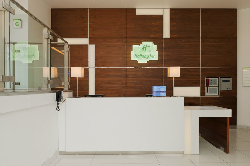 Holiday Inn Derby Riverlights-Reception Desk<br/>Image from Leonardo
