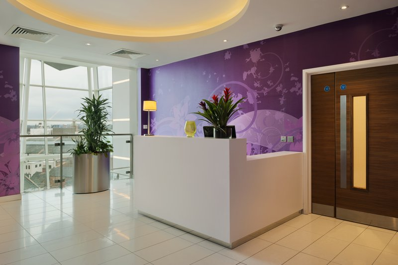 Holiday Inn Derby Riverlights-Our inviting elevator lobby<br/>Image from Leonardo