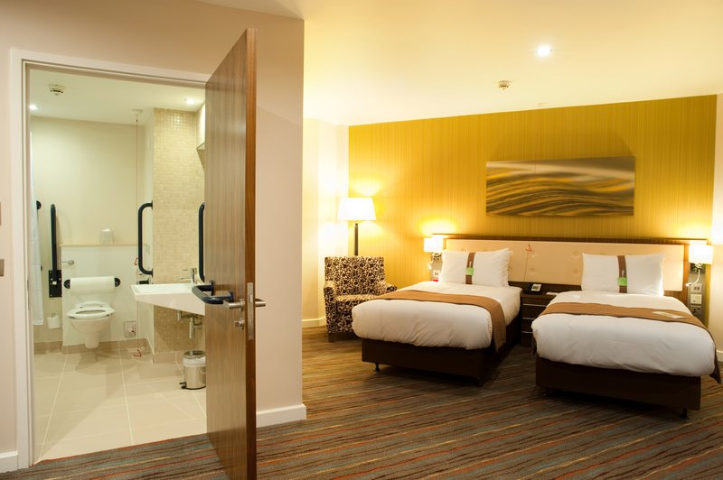 Holiday Inn Derby Riverlights-Twin Accessible Room<br/>Image from Leonardo