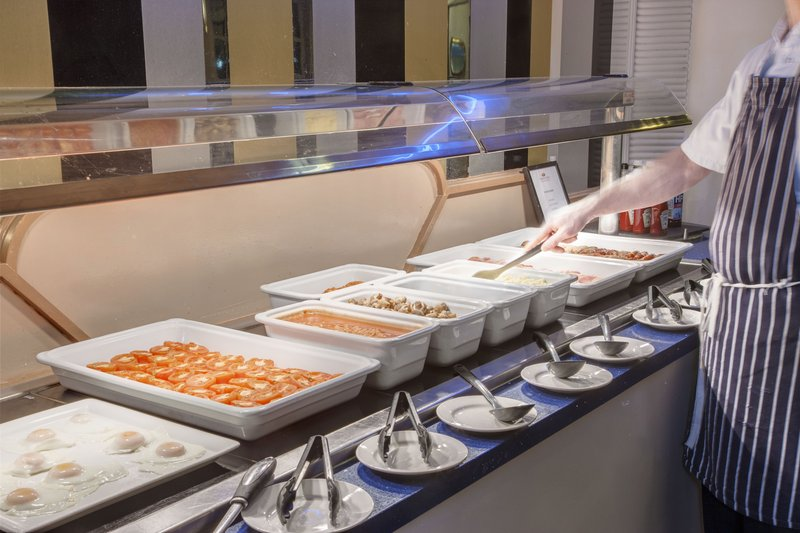 Crowne Plaza Liverpool John Lennon Airport-Hot Food Buffet<br/>Image from Leonardo
