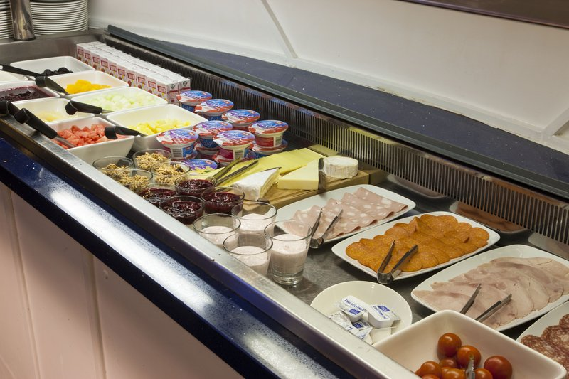 Crowne Plaza Liverpool John Lennon Airport-Chilled Buffet selection<br/>Image from Leonardo
