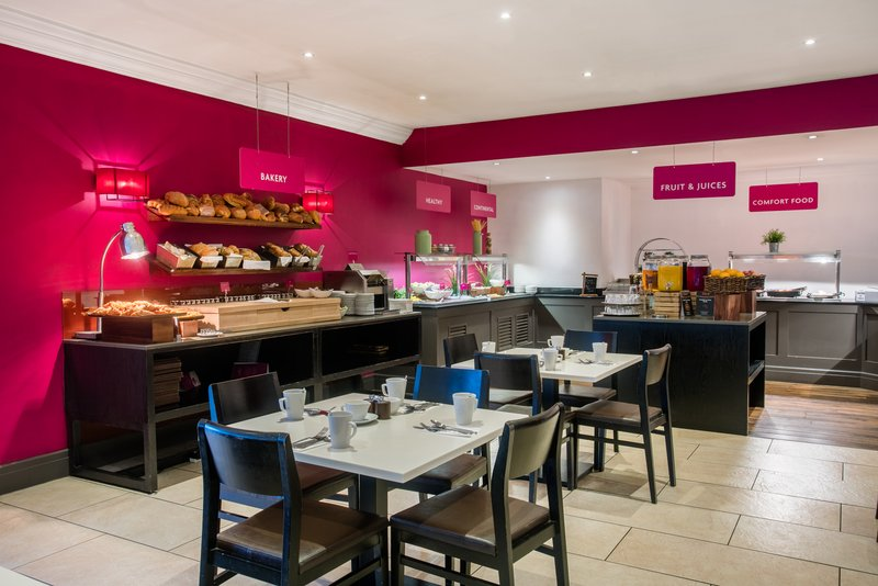 Crowne Plaza Manchester Airport-Breakfast Area<br/>Image from Leonardo