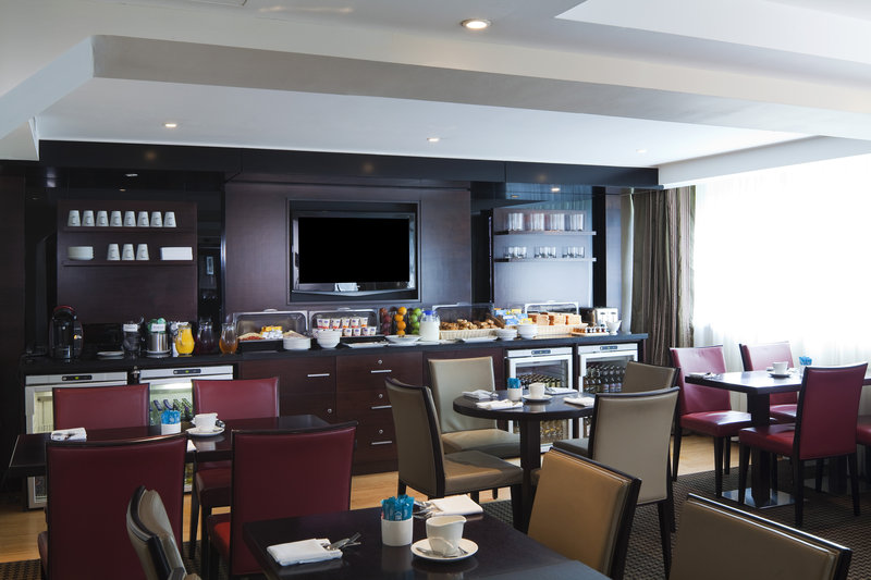 Crowne Plaza Manchester Airport-Club Lounge Continental Breakfast<br/>Image from Leonardo