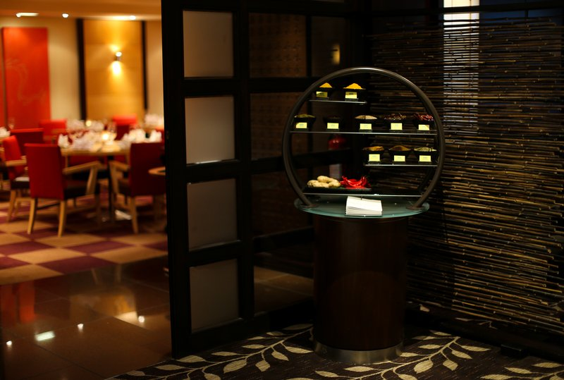 Crowne Plaza Manchester Airport-Sampans Restaurant Entrance<br/>Image from Leonardo