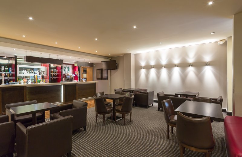 Holiday Inn Cambridge-Enjoy a coffee or cocktail at the casual Hub Bar<br/>Image from Leonardo