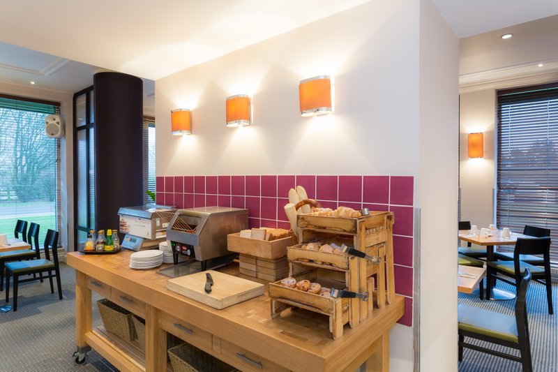 Holiday Inn Cambridge-Grab a pastry from our well-stocked Breakfast Buffet<br/>Image from Leonardo