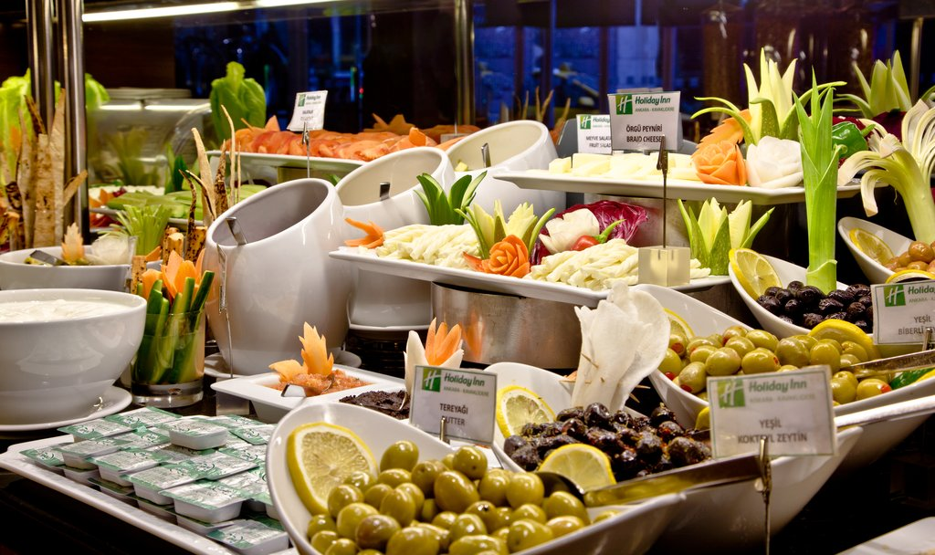 Holiday Inn Ankara-Kavaklidere-Buffet<br/>Image from Leonardo