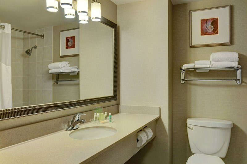 Holiday Inn Burlington - Hotel & Conf Centre-Guest Room bathroom with heated floors<br/>Image from Leonardo