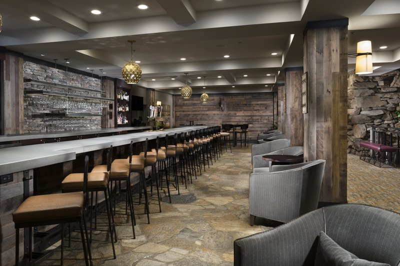 Crowne Plaza Resort Asheville-Come join us for a local brew and good eats at The Lobby Bar!<br/>Image from Leonardo