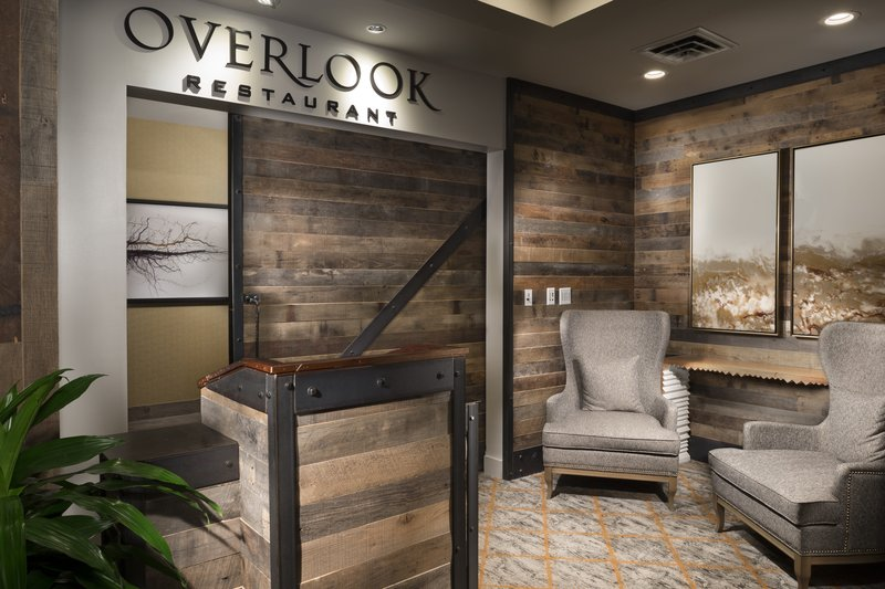 Crowne Plaza Resort Asheville-Enjoy a delicious meal and a beautiful view at the Overlook!<br/>Image from Leonardo