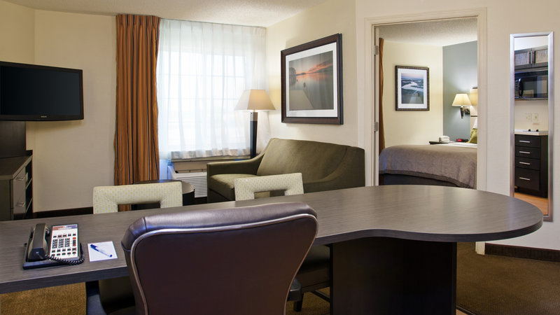 Candlewood Suites Clearwater-Living Room in 1 Bedroom Suite<br/>Image from Leonardo