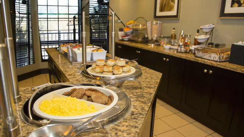 Staybridge Suites Colorado Springs North-Complimentary Breakfast Buffet<br/>Image from Leonardo