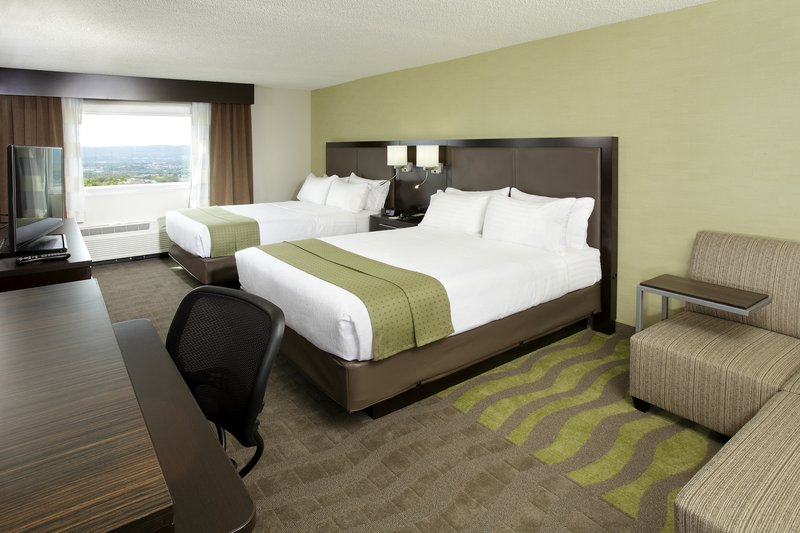 Holiday Inn Wilkes Barre - East Mountain-Two Queen Size Beds Guest Room<br/>Image from Leonardo
