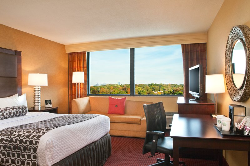 Crowne Plaza Boston - Newton-Queen Bed Guest Room<br/>Image from Leonardo