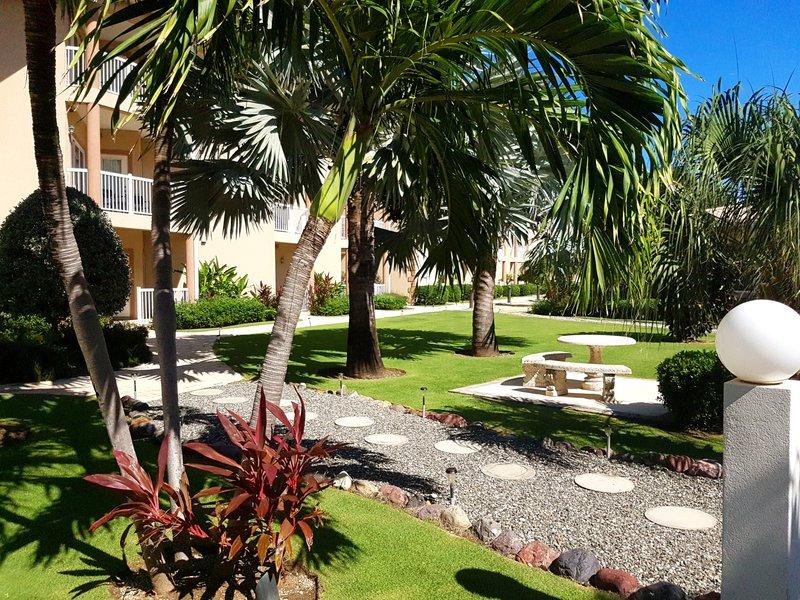 Holiday Inn Resort Grand Cayman-Recently renovated gardens<br/>Image from Leonardo