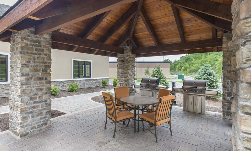 Staybridge Suites Canton-Grill out even when you are away from home on our outdoor patio!<br/>Image from Leonardo