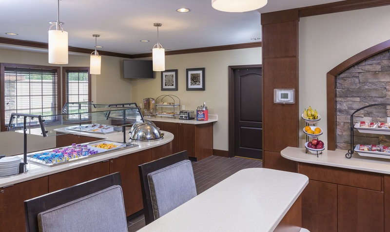 Staybridge Suites Canton-Enjoy our complimentary buffet breakfast every morning!<br/>Image from Leonardo