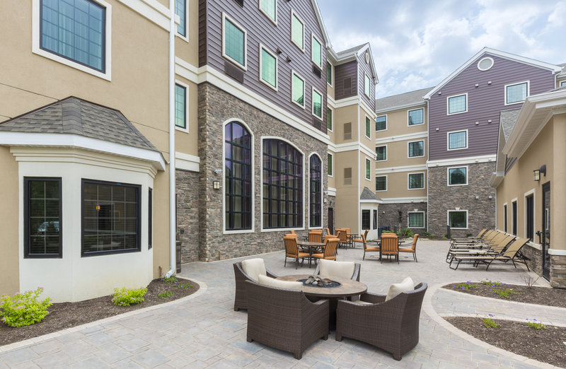 Staybridge Suites Canton-Gather with friends and family at our fabulous outdoor patio!<br/>Image from Leonardo