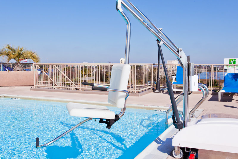 Holiday Inn Charleston-Riverview-ADA pool chair lift available<br/>Image from Leonardo