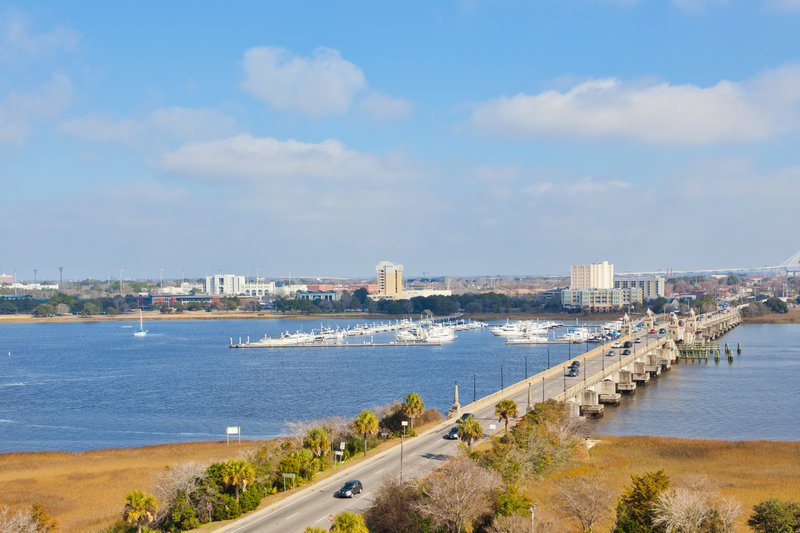 Holiday Inn Charleston-Riverview-View from Hotel<br/>Image from Leonardo