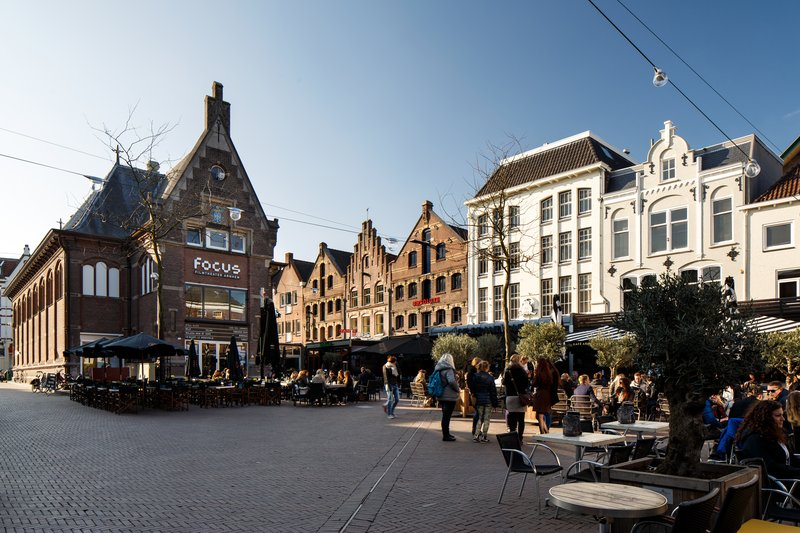 Holiday Inn Express Arnhem-Tour the beautiful Square surrounding the hotel<br/>Image from Leonardo