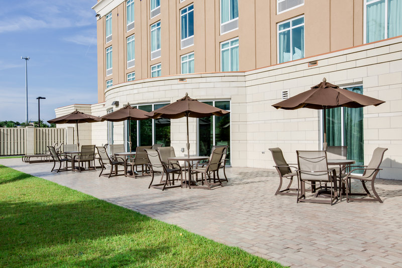 Holiday Inn Express Hotel & Suites Charleston Apt-Conv Ctr-Our patio offers plenty of warm Charleston sunshine.<br/>Image from Leonardo