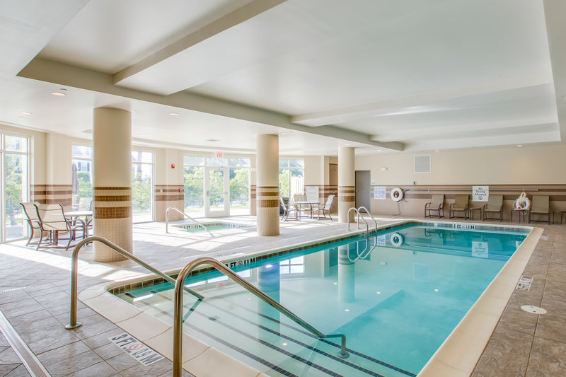 Holiday Inn Express Hotel & Suites Charleston Apt-Conv Ctr-Take a dip in our indoor pool, perfect for kids and adults alike.<br/>Image from Leonardo