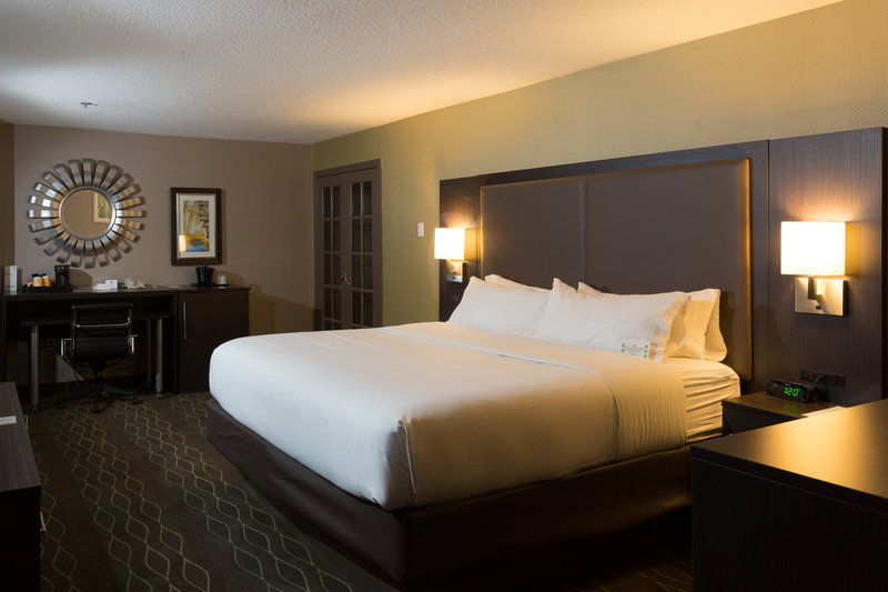 Holiday Inn Sudbury-Spacious King Rooms Are Perfect For The Business Traveler<br/>Image from Leonardo