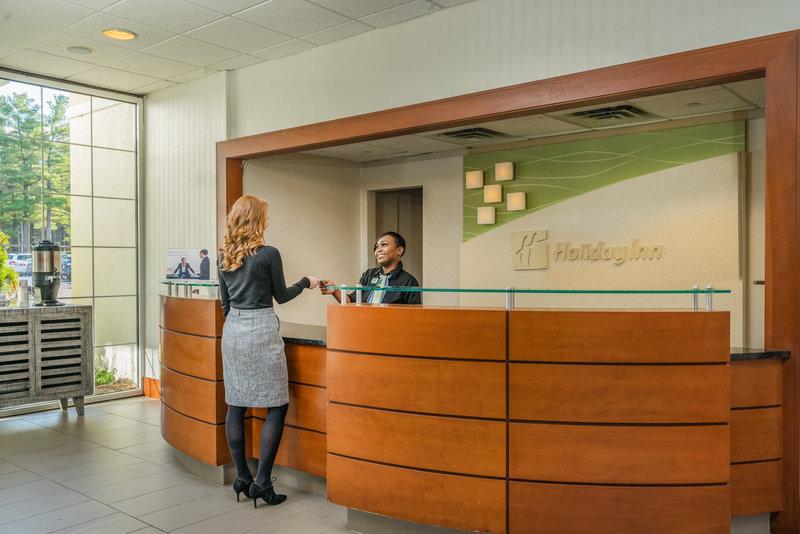 Holiday Inn Mansfield-Foxboro Area-Front Desk at Holiday Inn Mansfield-Foxboro<br/>Image from Leonardo