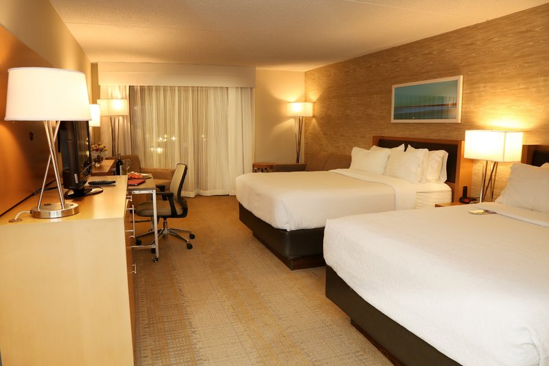 Holiday Inn Mansfield-Foxboro Area-Newly Renovated Guest Room with 2 Queen Beds and Sofabed<br/>Image from Leonardo