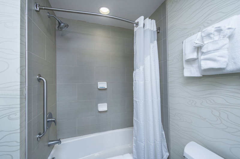 Holiday Inn Express Hotel & Suites Charleston Apt-Conv Ctr-Bathroom Amenities<br/>Image from Leonardo