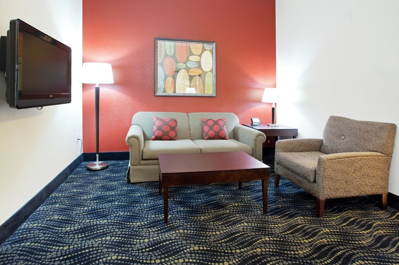 Holiday Inn Hotel & Suites Grand Junction-Airport-One bedrooms suites with seating area for extended stays.<br/>Image from Leonardo