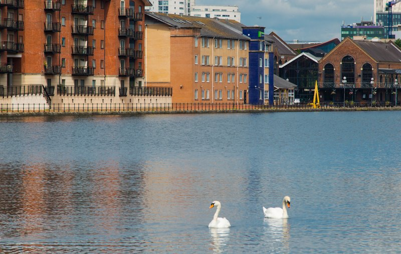 Holiday Inn Express Cardiff Bay-Exterior Feature<br/>Image from Leonardo