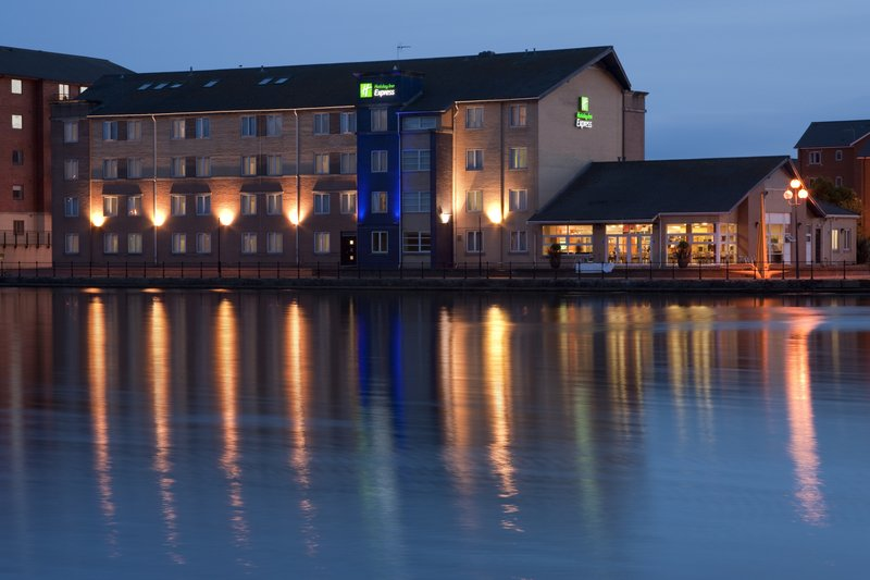 Holiday Inn Express Cardiff Bay-Free WIFI throughout the hotel and Free Breakfast<br/>Image from Leonardo