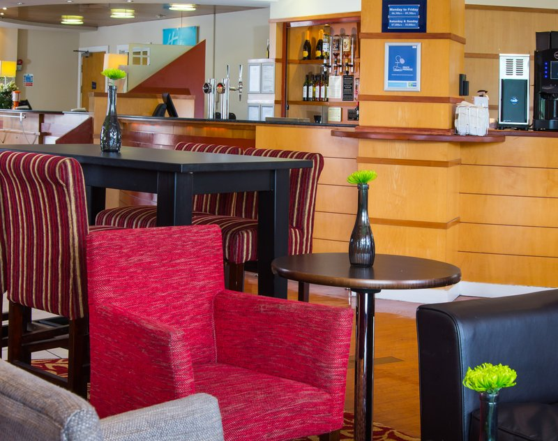 Holiday Inn Express Cardiff Bay-Lobby Lounge<br/>Image from Leonardo