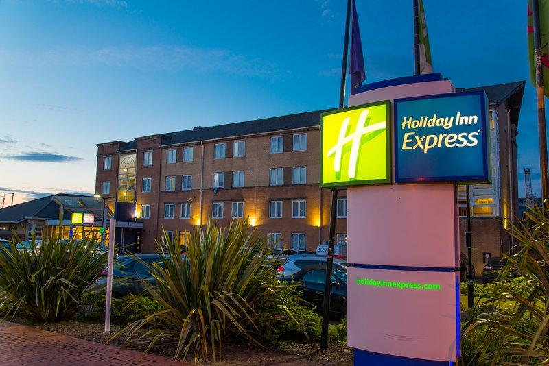 Holiday Inn Express Cardiff Bay-Hotel Exterior<br/>Image from Leonardo