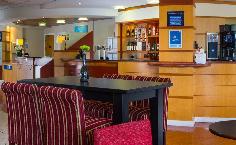 Holiday Inn Express Cardiff Bay-Relax in the lobby with free WIFI<br/>Image from Leonardo