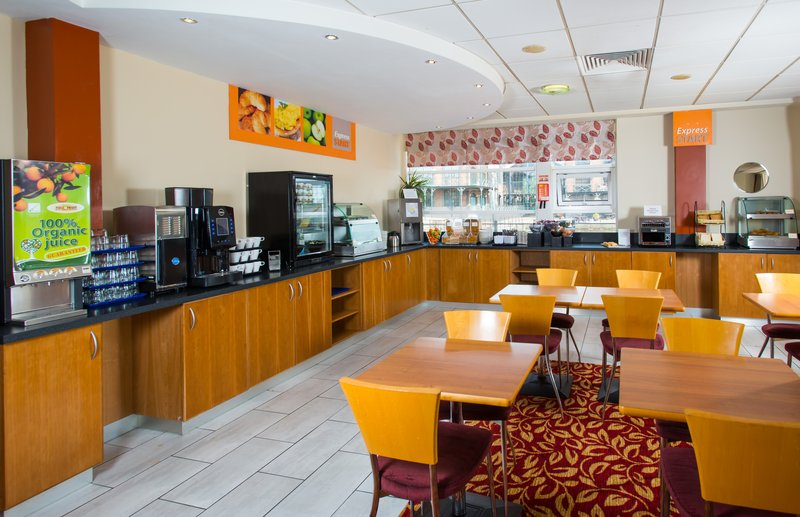 Holiday Inn Express Cardiff Bay-Enjoy our complimentary breakfast each morning<br/>Image from Leonardo