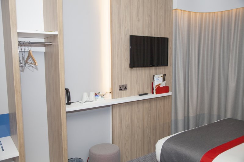 Holiday Inn Express Cardiff Bay-Free view TV, hanging facilities and free Wi-Fi throughout the htl<br/>Image from Leonardo