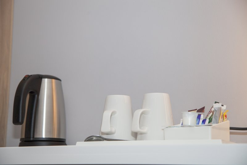 Holiday Inn Express Cardiff Bay-Handy tea and coffee making facilities available in each room<br/>Image from Leonardo