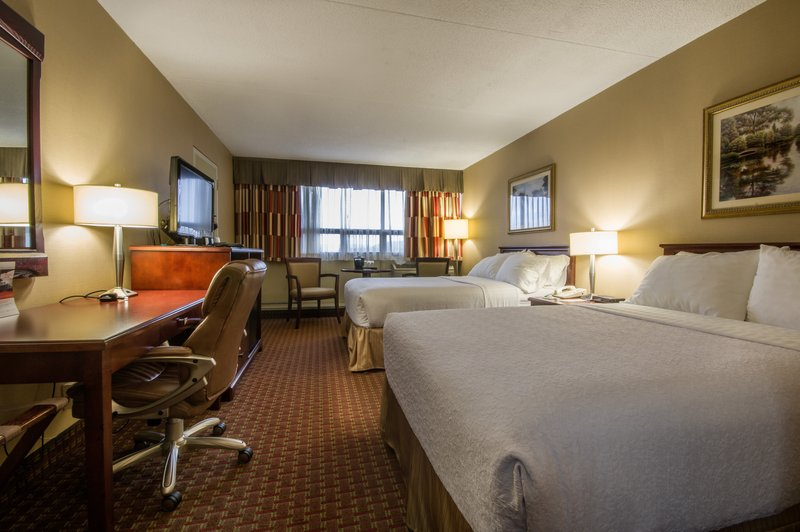 Holiday Inn St. John's Conference Centre-spacious double bedded room<br/>Image from Leonardo