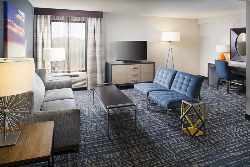 Crowne Plaza Annapolis-Newly Renovated Entertainment Area of a Suite<br/>Image from Leonardo
