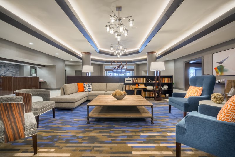 Crowne Plaza Annapolis-Newly Renovated Hotel Lobby<br/>Image from Leonardo