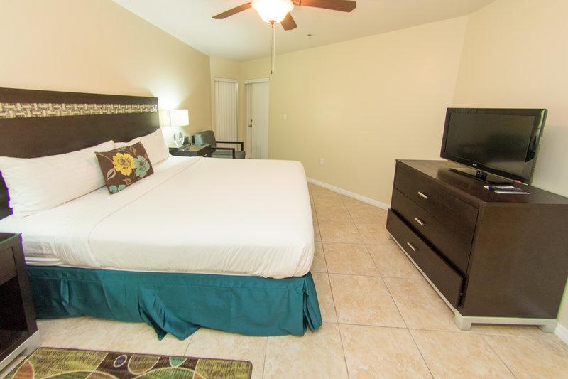 Holiday Inn Resort Grand Cayman-One Bedroom King Suite- Bedroom<br/>Image from Leonardo