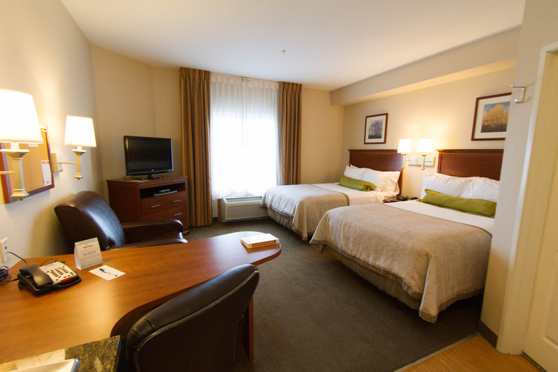Candlewood Suites Santa Maria-Spacious studio suite offering two queen beds and a full kitchen<br/>Image from Leonardo