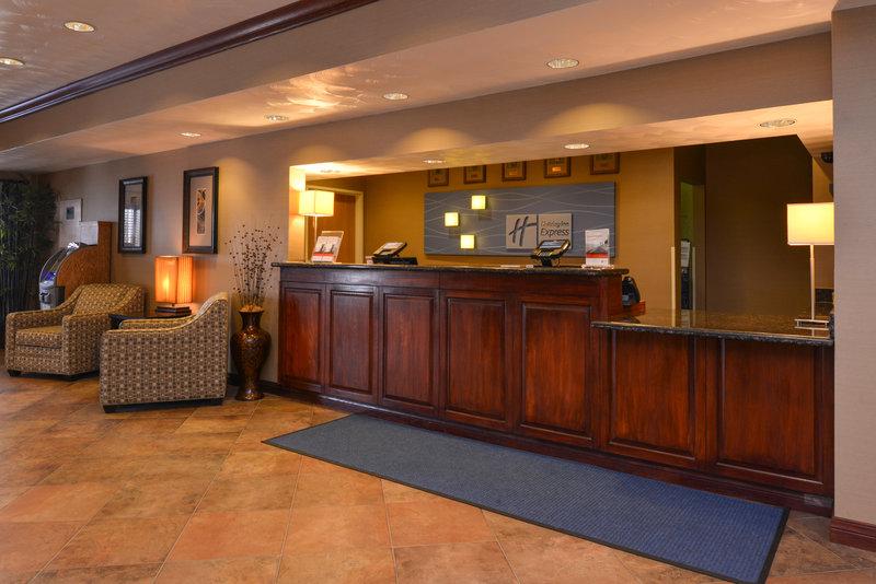 Holiday Inn Express Morgantown-Front Desk<br/>Image from Leonardo
