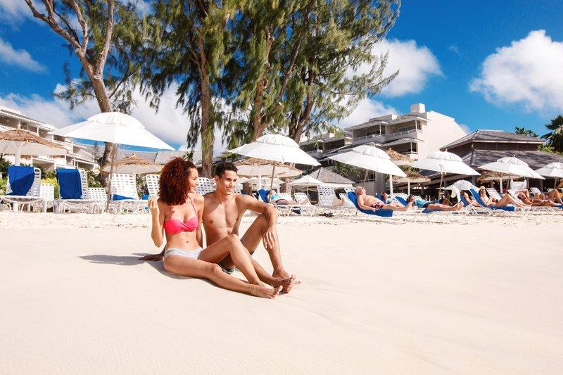 Bougainvillea Barbados-Bougainvillea Barbados - Couple on Beach<br/>Image from Leonardo