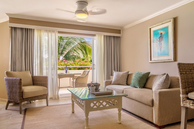 Bougainvillea Barbados-Two Bedroom Beachfront Luxury Suite - Living Area<br/>Image from Leonardo