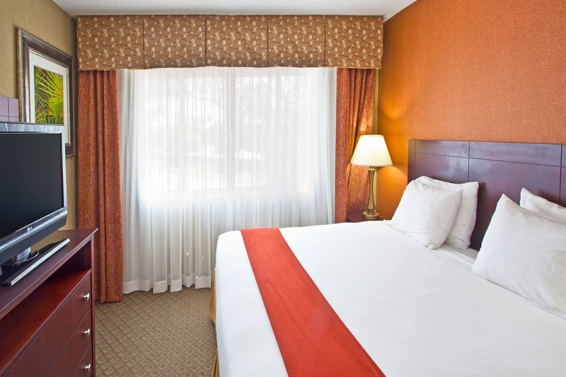 Holiday Inn Express Clearwater East - Icot Center-King Bed Guest Room Modern and comfort awaits you at our hotel<br/>Image from Leonardo